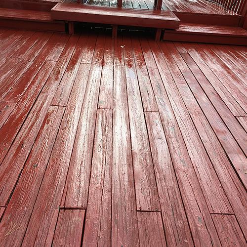 Deck Repair Pressure Wash